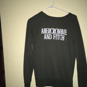 ABERCROMBIE & FITCH green sweatshirt